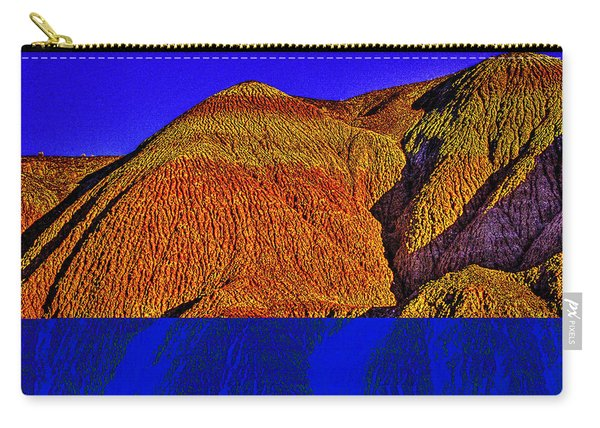 The Tepees Up Close Carry-all Pouch