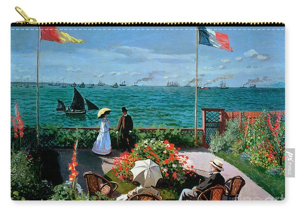 The Terrace At Sainte Adresse Carry-all Pouch