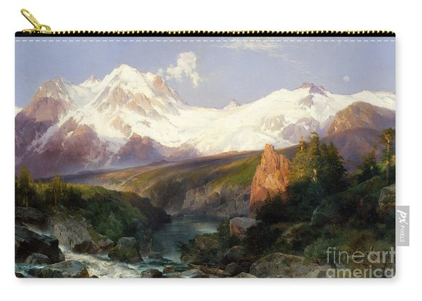 The Teton Range, 1897 Carry-all Pouch