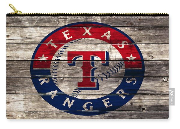 The Texas Rangers 4a Carry-all Pouch