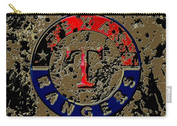 The Texas Rangers 6a Carry-all Pouch