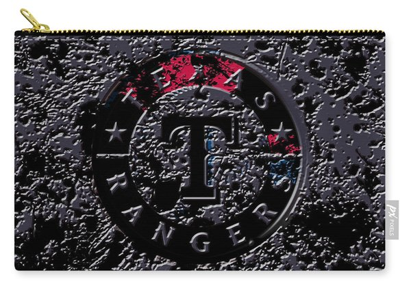 The Texas Rangers  Carry-all Pouch