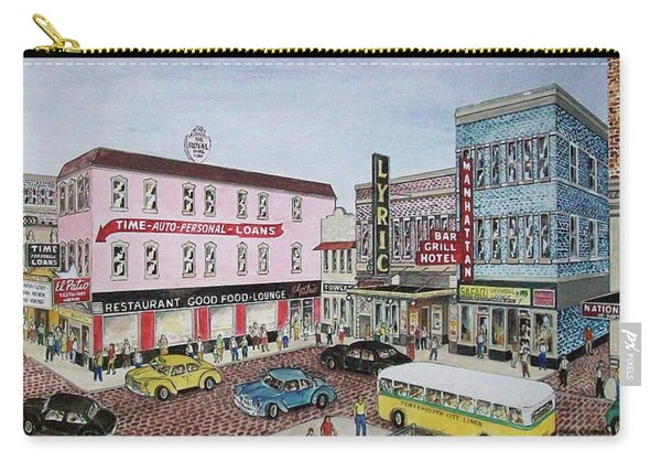 The Theater District Portsmouth Ohio 1948 Carry-all Pouch