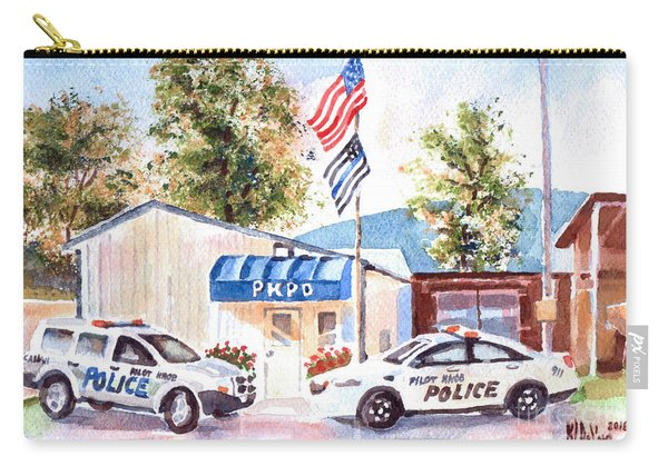 The Thin Blue Line Carry-all Pouch