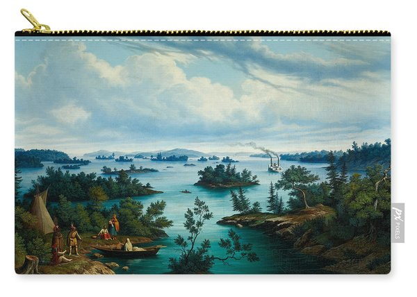 The Thousand Islands In The Saint Lawrence River In Canada Carry-all Pouch
