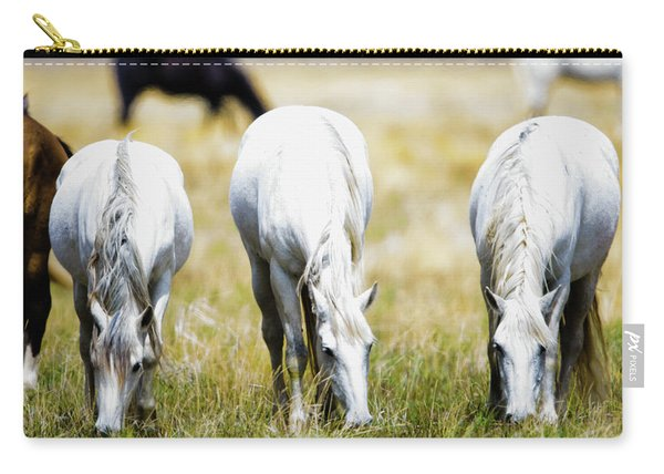 The Three Amigos Grazing Carry-all Pouch