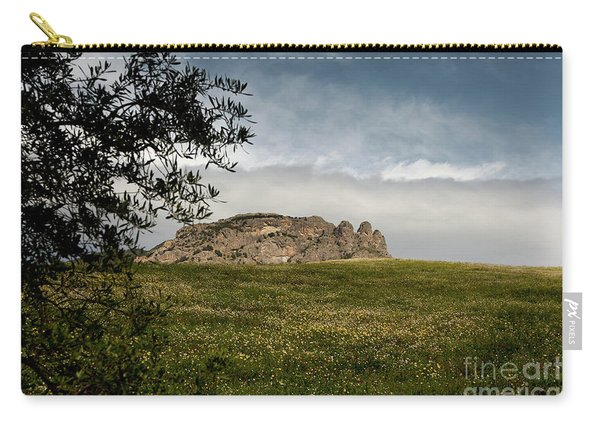 Italy, Calabria, Cimina,the Three Fingers Carry-all Pouch