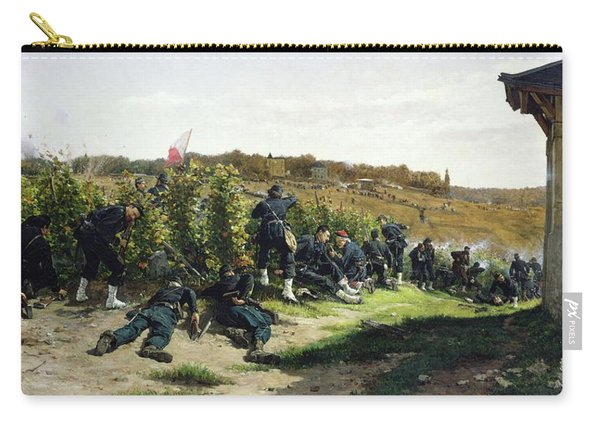 The Tirailleurs De La Seine At The Battle Of Rueil Malmaison Carry-all Pouch