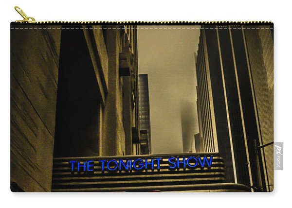 The Tonight Show Nbc Studios Rockefeller Center Carry-all Pouch