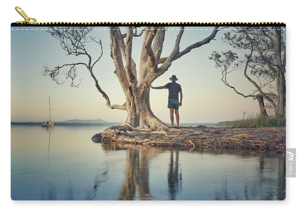 The Tree And Me Carry-all Pouch