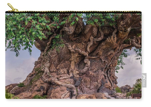 The Tree Of Life Close Carry-all Pouch