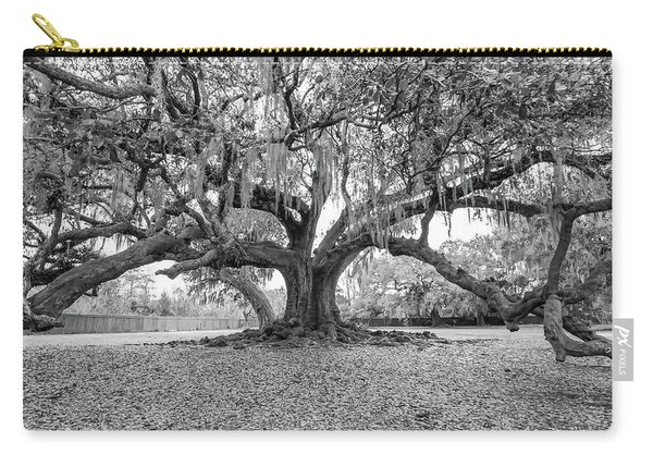 The Tree Of Life Monochrome Carry-all Pouch