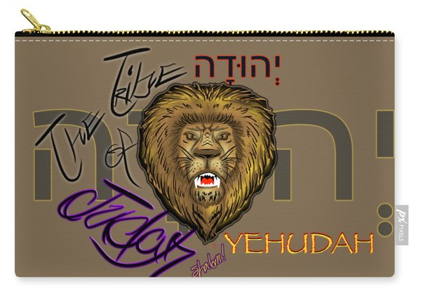 The Tribe Of Judah Hebrew Carry-all Pouch