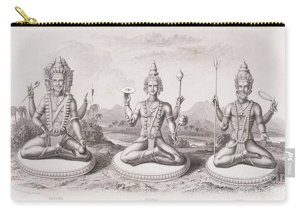 The Trimurti Or Hindu Trinity Carry-all Pouch