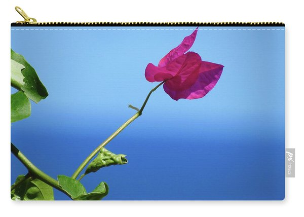 The Tropical Bloom Carry-all Pouch