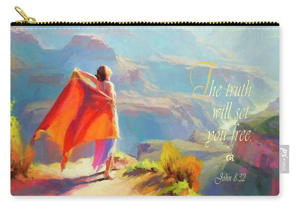 The Truth Will Set You Free Carry-all Pouch