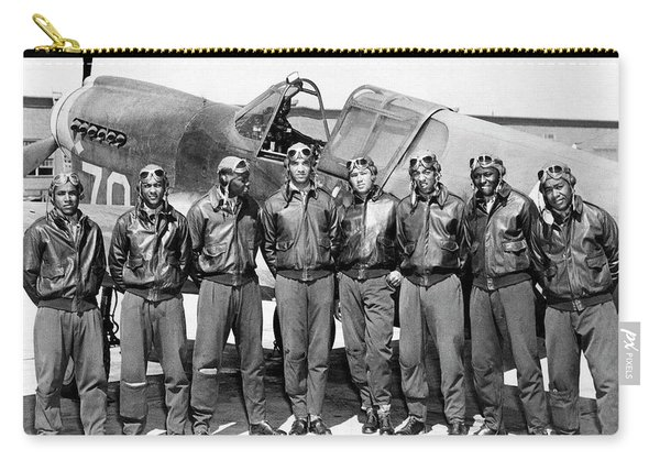 The Tuskegee Airmen Circa 1943 Carry-all Pouch