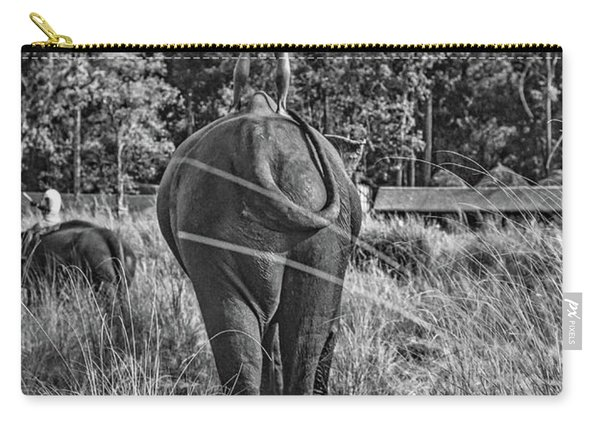 The Ultimate Bareback Ride Bw Carry-all Pouch