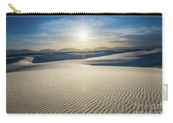 The Unique And Beautiful White Sands National Monument In New Me Carry-all Pouch