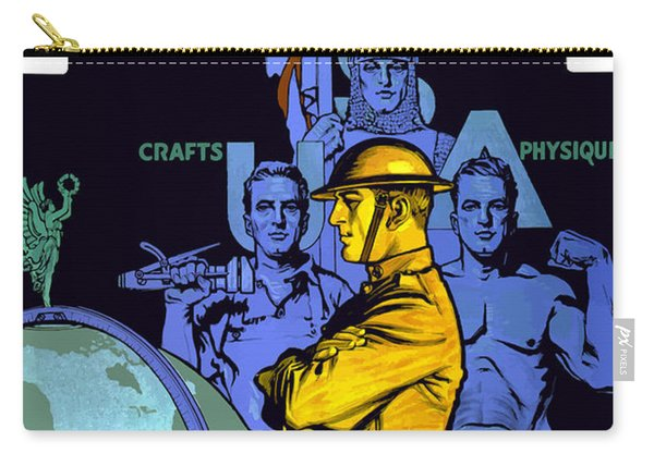 The United States Army Builds Men Carry-all Pouch