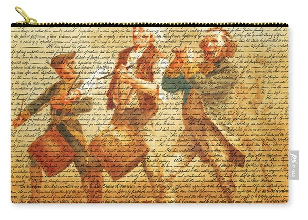 The United States Declaration Of Independence And The Spirit Of 76 20150704v2 Carry-all Pouch
