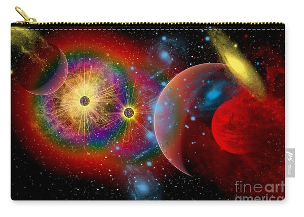 The Universe In A Perpetual State Carry-all Pouch
