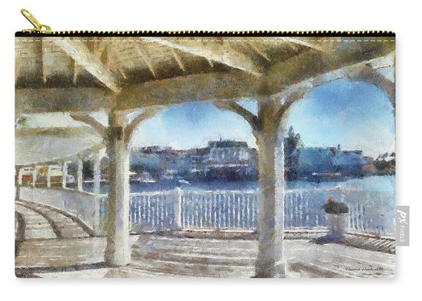 The View From The Boardwalk Gazebo Wdw 02 Photo Art Mp Carry-all Pouch
