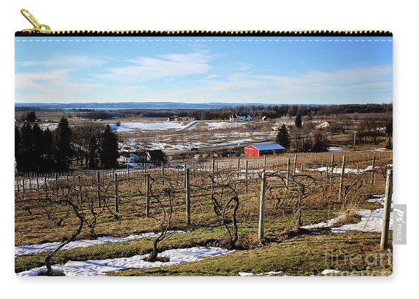 The Vineyard On Old Mission Carry-all Pouch