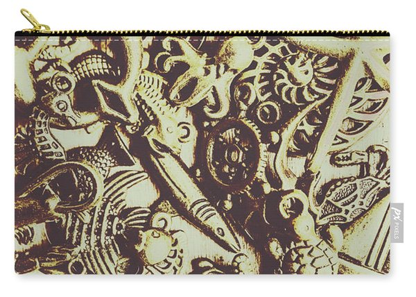 The Vintage Nautics Carry-all Pouch