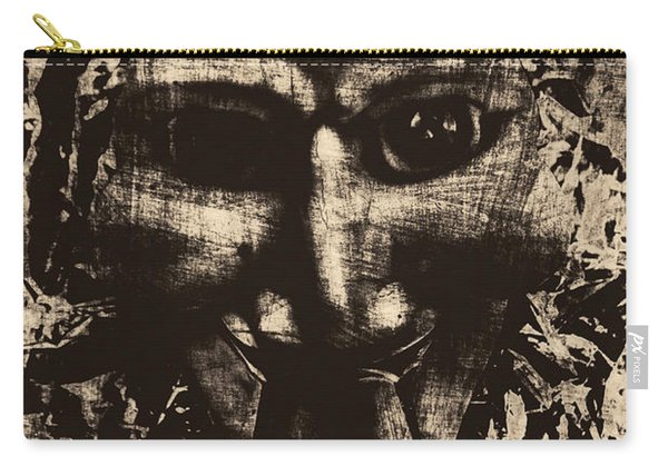 The Vintage Puppet Mask Carry-all Pouch