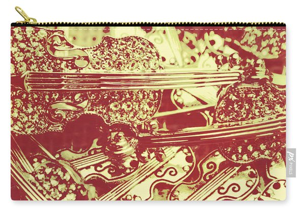 The Violinist Playwright Carry-all Pouch