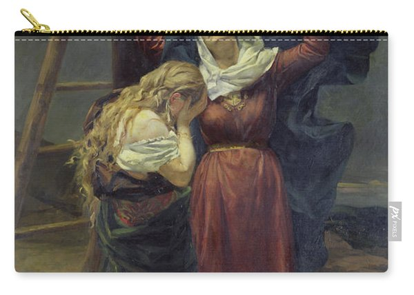 The Virgin At The Foot Of The Cross Carry-all Pouch