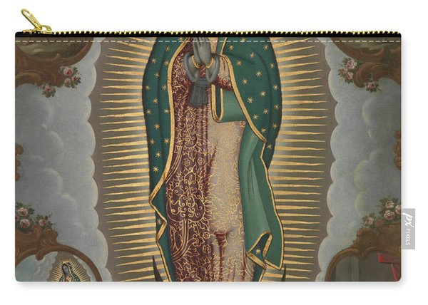 The Virgin Of Guadalupe With The Four Apparitions, 1772 Carry-all Pouch