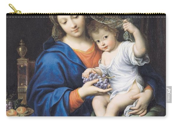 The Virgin Of The Grapes Carry-all Pouch