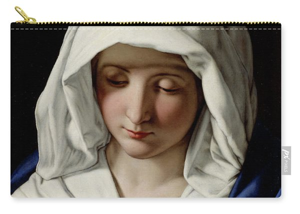 The Virgin Praying Carry-all Pouch
