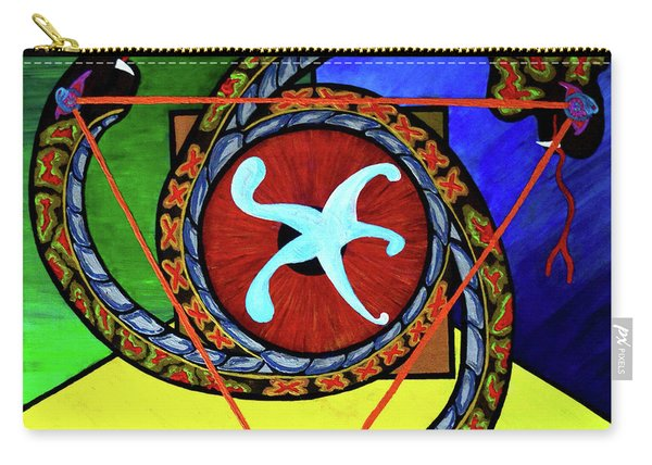 The Vitruvian Serpent Carry-all Pouch