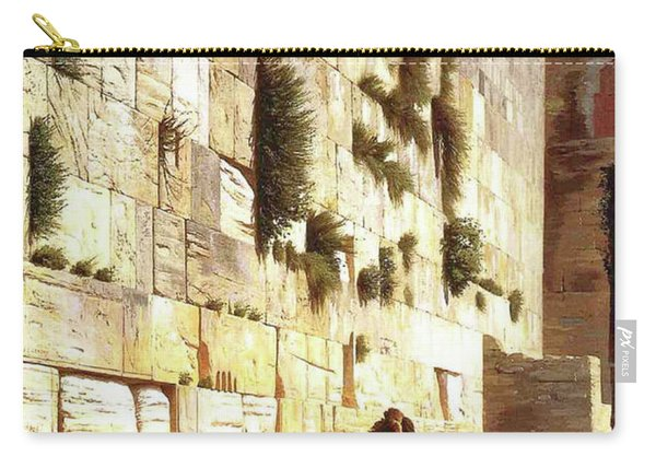 The Wailing Wall, Jerusalem, 1869 Carry-all Pouch