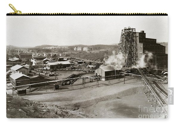The Wanamie Colliery Lehigh And Wilkes Barre Coal Co Wanamie Pa Early 1900s Carry-all Pouch