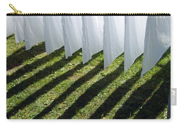 The Washing Is On The Line - Shadow Play Carry-all Pouch
