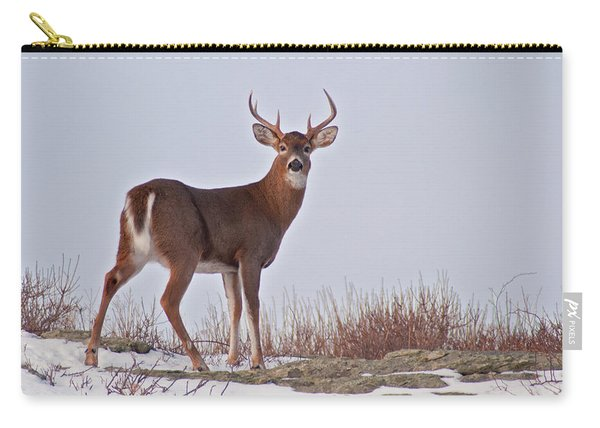 The Watchful Deer Carry-all Pouch