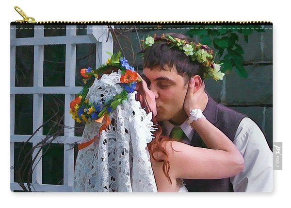The Wedding Kiss Carry-all Pouch