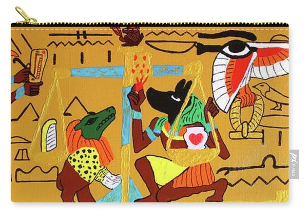 The Weighing Of The Heart Carry-all Pouch