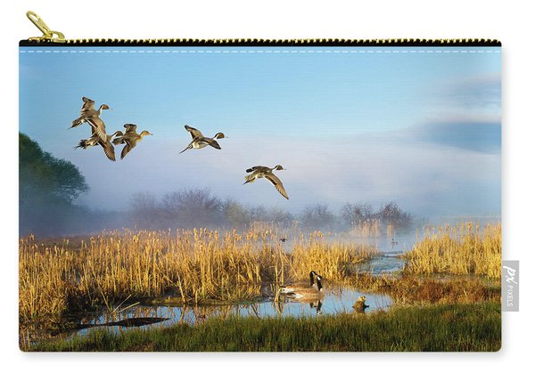 The Wetlands Crop Carry-all Pouch