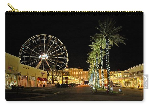 The Wharf At Night  Carry-all Pouch