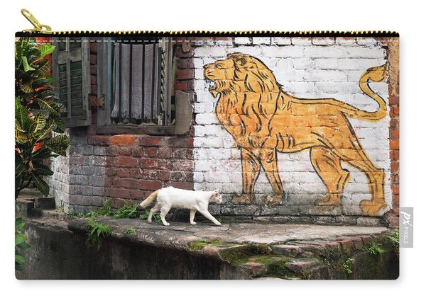 The White Cat Carry-all Pouch