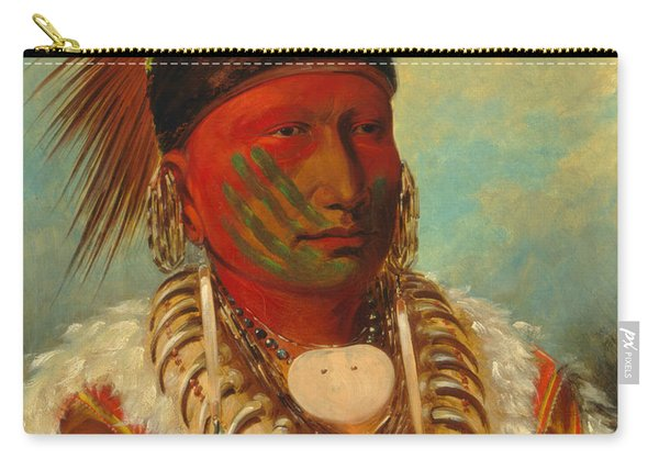 The White Cloud, Head Chief Of The Iowas Carry-all Pouch