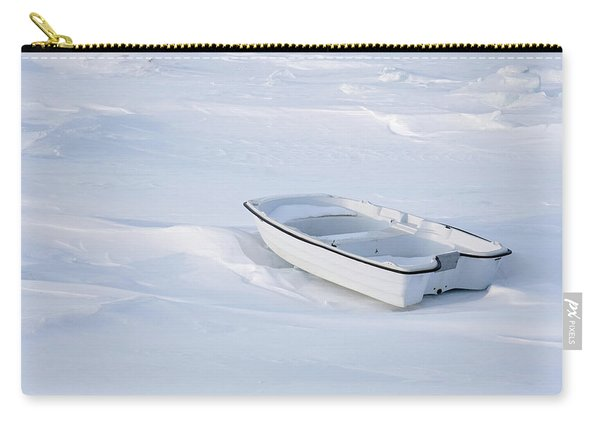 The White Fishing Boat Carry-all Pouch