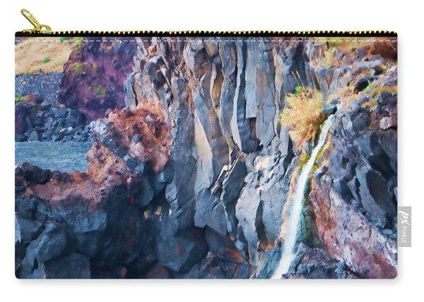 The Wild Atlantic Cliffs Of Camara De Lobos On The Islandof Madeira Carry-all Pouch