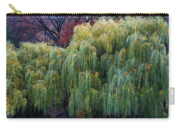 The Willows Of Central Park Carry-all Pouch