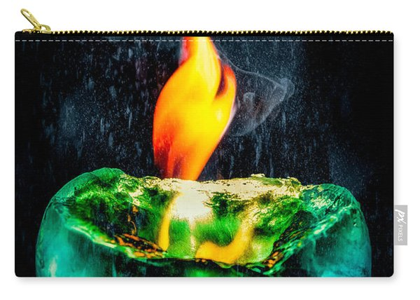 The Winter Of Fire And Ice Carry-all Pouch